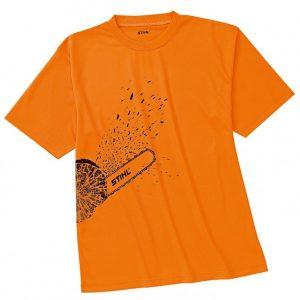 Тениска DYNAMIC Mag Cool, яркооранжева