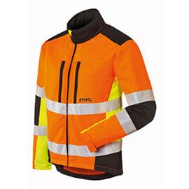 Яке Protect MS, в сигнален цвят и със защита от срязване