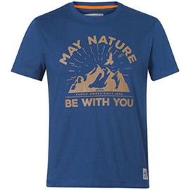 """Тениска """"MAY NATURE"""", синя"""