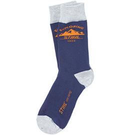 """Чорапи """"EXPLORING"""", сини"""
