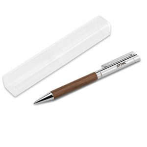 Химикалка дървена, с кутия