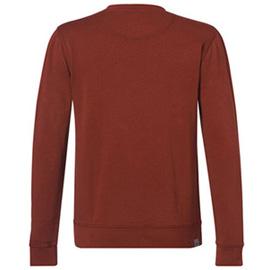 Пуловер, червен