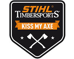 Лепенка KISS MY AXE (TIMBERSPORTS)