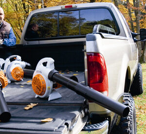 Бензинови уреди за засмукване и раздробяване